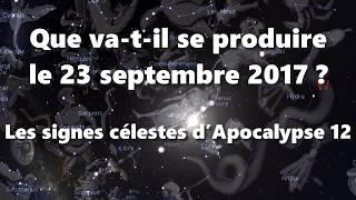 Que va-t-il se produire le 23 septembre 2017 ? [Ne fait aucune prédiction.]