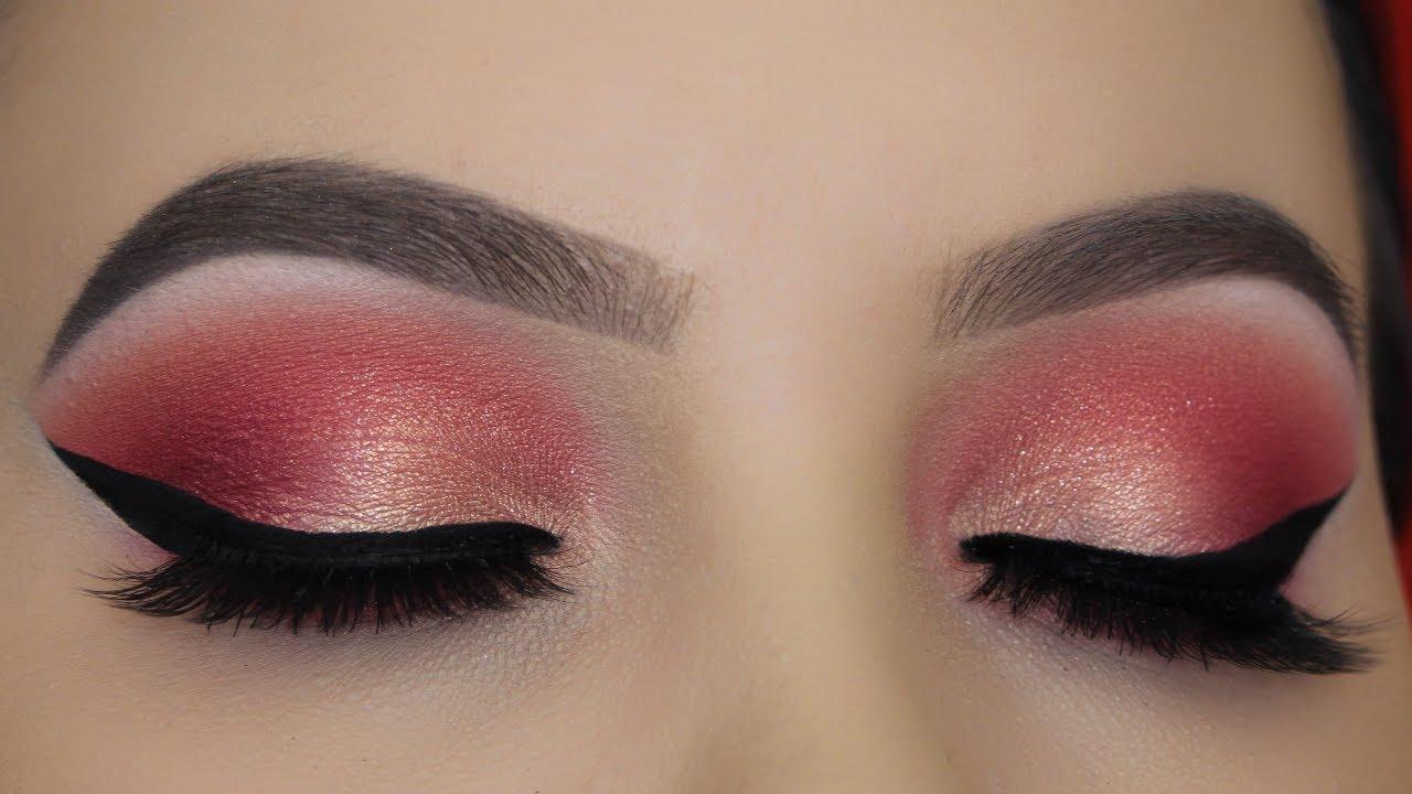 Soft Golden Peach Eye Makeup Jeffree Star Blood Sugar Palette