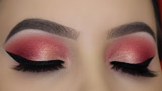 Soft Golden Peach Eye Makeup - Jeffree Star Blood Sugar Palette