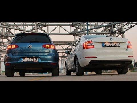 Karlatrma Skoda Octavia vs VW Golf