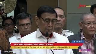 Wiranto dan Luhut Binsar Panjaitan Dianggap Sudah Tak Layak jadi Menteri - JPNN.com