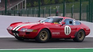 Ferrari 365 GTB/4 Daytona Competizione - PURE ENGINE SOUNDS!