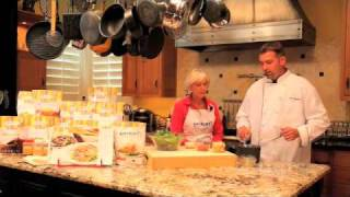 Shirley J - Wilted Spinach & Bacon Salad - Cooking Demonstration
