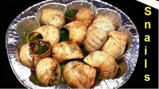 Eating Snails / Escargot  (Makan Siput)