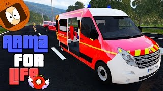 POMPIER : TERRIBLE ACCIDENT DE VOITURE SUR L'AUTOROUTE ! | ARMA FOR LIFE