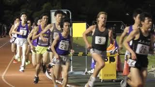 【頑張れ中大】平成国際大記録会 5000m最終組 安永 2019.5.18