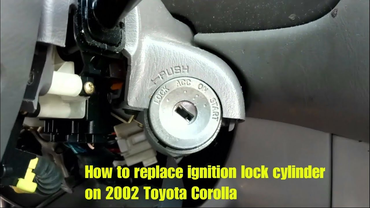 2001 Toyota Prius Need To Replace The Ignition Lock Cylinder Diagram