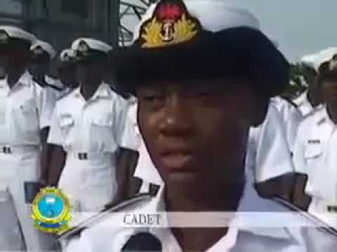 Nigerian Navy Training Passing Out Parade