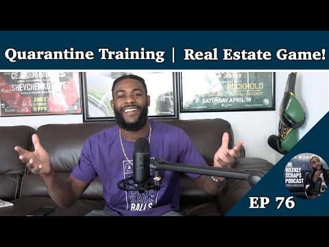 Aljamain Sterling Training Week Recap | UFC Fight Island Ready | Real Estate Game!
