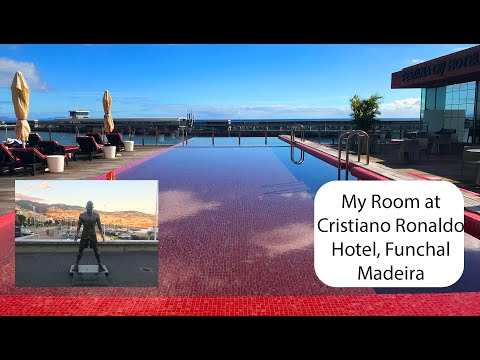 My Room at the Cristiano Ronaldo Hotel CR7 Funchal Madeira In 4K
