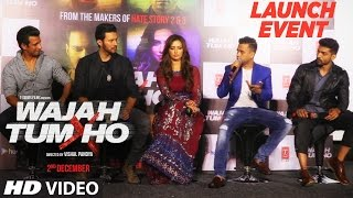 Official :Wajah Tum Ho Movie Trailer Launch Event | Sharman Joshi, Sana Khan, Rajneesh Duggal