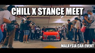 Sabahan Stance Memang Crazy. Chill X Stance Meet - Borneo Wheels Day 2018