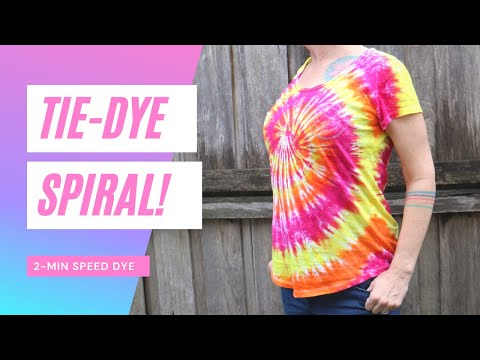 Sea Shepherd Tie-Dye Spiral! Yellow, orange, and pink tie-dye spiral