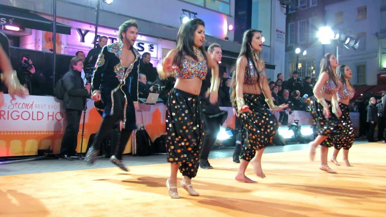 Download Karan Pangali dance at Second Best Exotic Marigold Hotel World Premiere