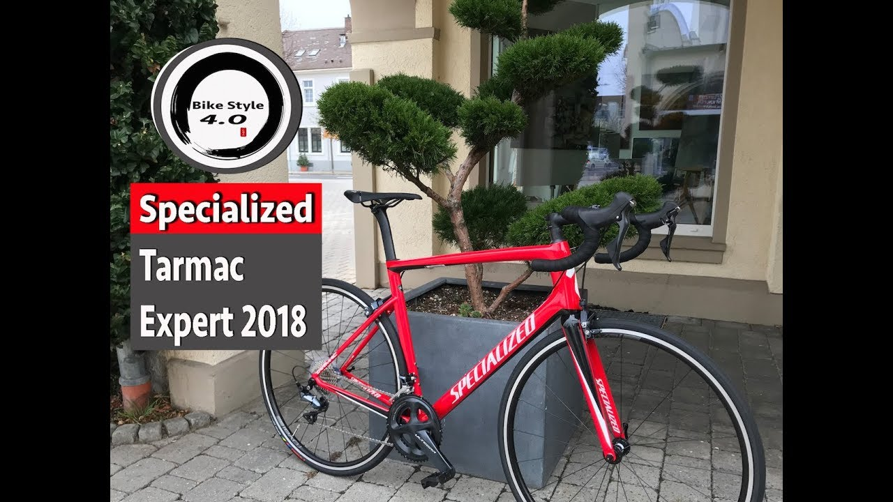 0d7a52654f2 Specialized Tarmac Expert 2018 Ultegra - YouTube