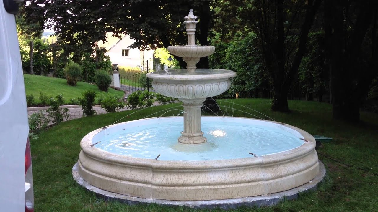 Fontaine De Jardin Alsace Youtube