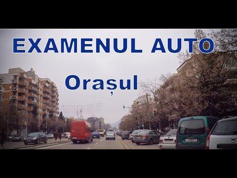 Examenul auto proba practica | Orasul