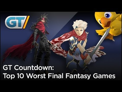 Generate Top 10 Worst Final Fantasy Games Images