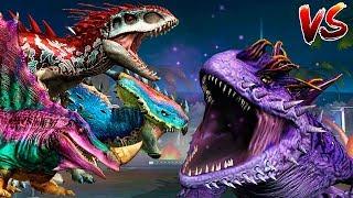 ХИЩНИКИ Против САЛАМАНДРА 16 Босс Jurassic World The Game   Ludia