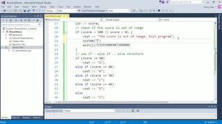 How to use if else and switch in C++
