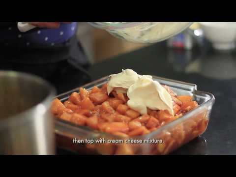 Home Foodie - Easy Salted Caramel Apple Cream Cake