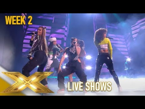 V5: Girl Group Bring The Latino FIRE With Despacito & Mi Gente!| The X Factor 2019: Celebrity