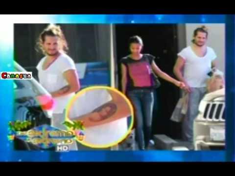 Esposo de Zoe Saldaña se tatuo foto de la Actriz en su brazo