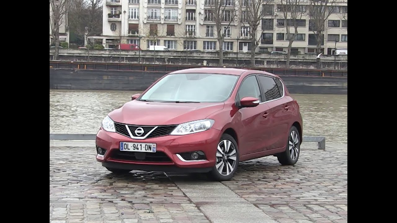 essai nissan pulsar 1 2 dig t connect edition 2014 youtube. Black Bedroom Furniture Sets. Home Design Ideas