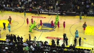 Bhangra Empire @ NBA Halftime Show (Warriors Vs. Mavericks) 2011