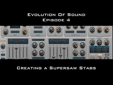 Supersaw Stabs For Big Room/Trance In Spire Evolution Of Sound Episode 4