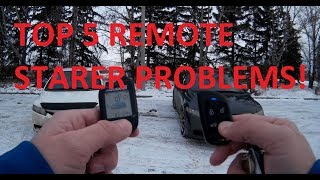 Top 5 Remote Starter Problems  PLEASE SUBSCRIBE GET ME TO 1K SUBS!!