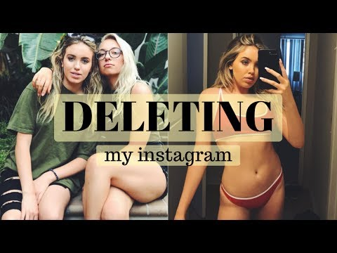 DELETING MY INSTAGRAM | MY EXPERIENCE