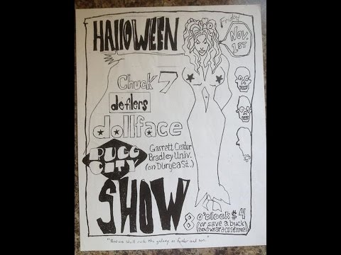 Halloween 96  Rugg City, The Defilers, Chuck 7, Dollface
