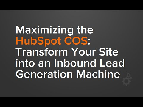 TC HUG: Transforming Your Site into an Inbound Lead Generation Machine