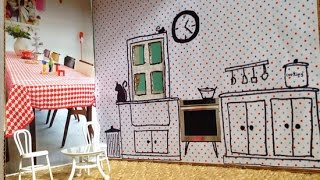 Make An Adorable Cardboard Dollhouse - Diy Home - Guidecentral