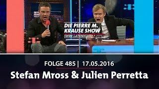 Die Pierre M. Krause Show vom 17.05.2016 mit Pierre, Stefan, Julian und Hundewelpen