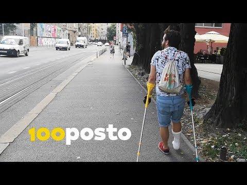 Kako preživjeti Zagreb u gipsu na štakama? [100posto NEWS]