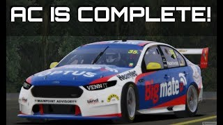 THE MOST UP TO DATE V8 SUPERCAR MOD! 2018 V8 Supercars Mod for Assetto Corsa