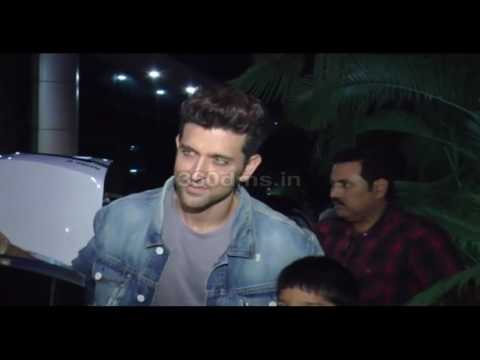 Bollywood Actor Hrithik Roshan Spotted At...