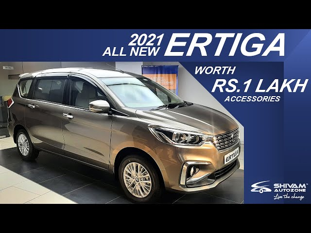 New Ertiga VXi S-CNG 2021 | Accessories worth ₹ 96,179/-*