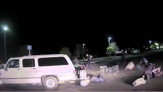 Police release web cam video of Walmart brawl on March 21, 2015