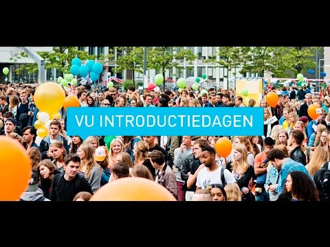 VU Introductiedagen YouTube
