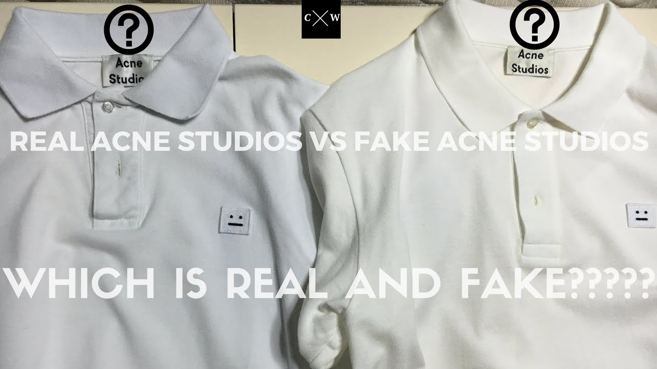 How do you spot fake brand name clothing?