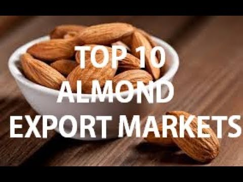 TOP 10 ALMOND EXPORT MARKETS
