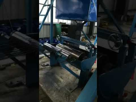 Steel Strapping Tempering And Waxing And Oscillating Line