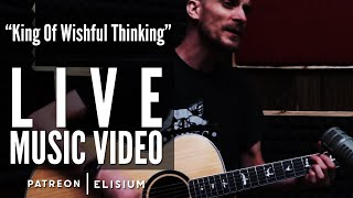 King of Wishful Thinking | Go West | Live Acoustic Cover by Elisium