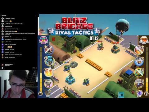 Blitz brigade - Rival tactics - The Office - top 3 global clan 3400+