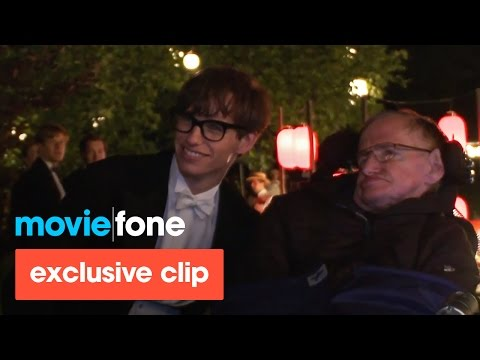 'The Theory of Everything' | Stephen Hawking Visits the Set streaming vf