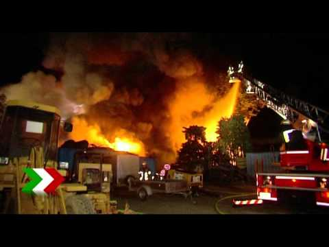 Grossbrand in Essen - Enormer Sachschaden