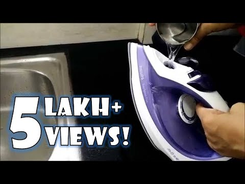 How to De scale your Philips Steam Iron | How to use Philips Steam Iron | Tips by Happy Pumpkins